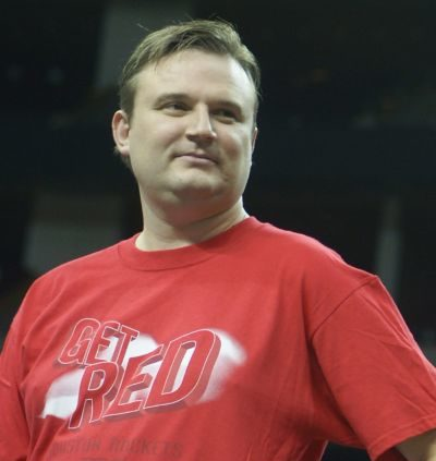 Daryl Morey, GM of the Houston Rockets