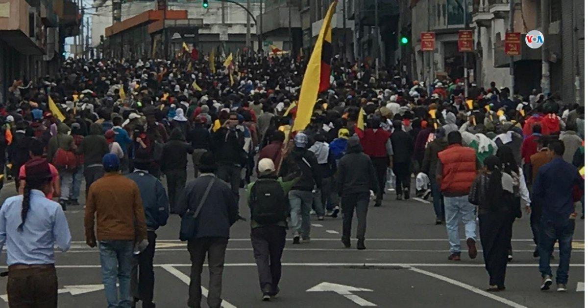 Protests in Ecuador - October 11, 2019