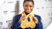 Five times World Champion in Stuttgart 2019: Simone Biles (USA) – picture: Dinkelacker