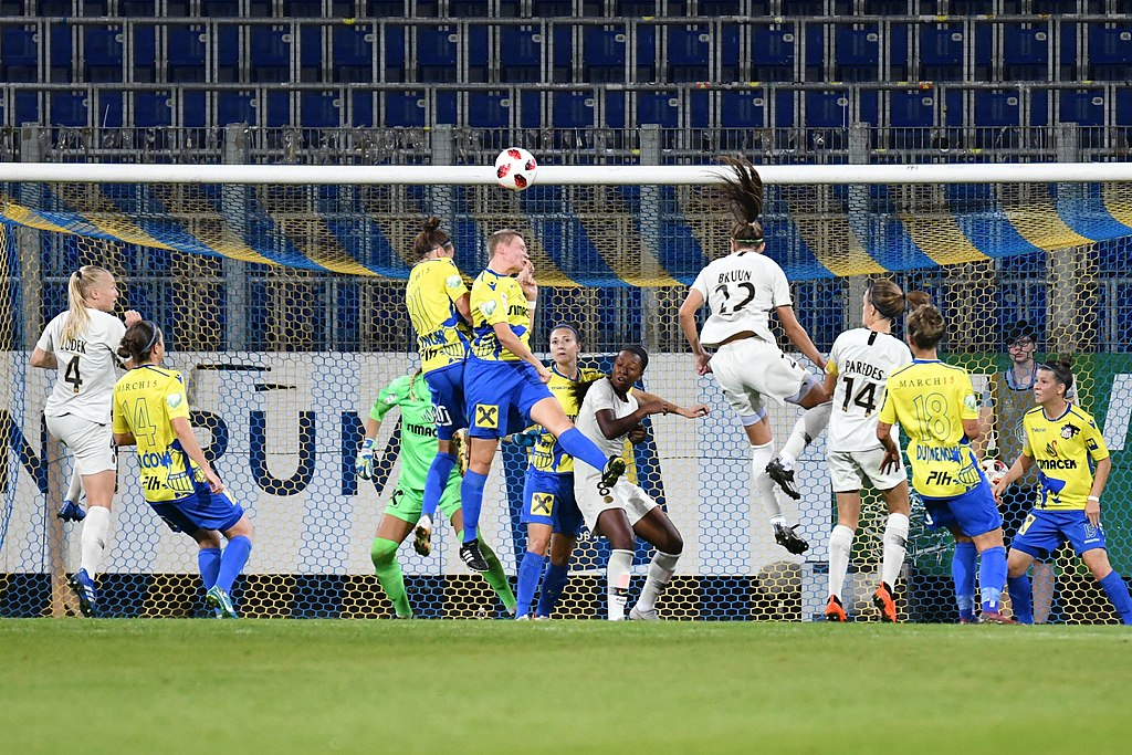 UEFA Women's Champions League 2019 Final Round of 32 SKN St.Poelten vs. Paris Saint Germain 2018/09/12.