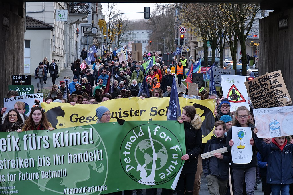 Global Climate Strike in Detmold, Germany on Friday 29 November 2019