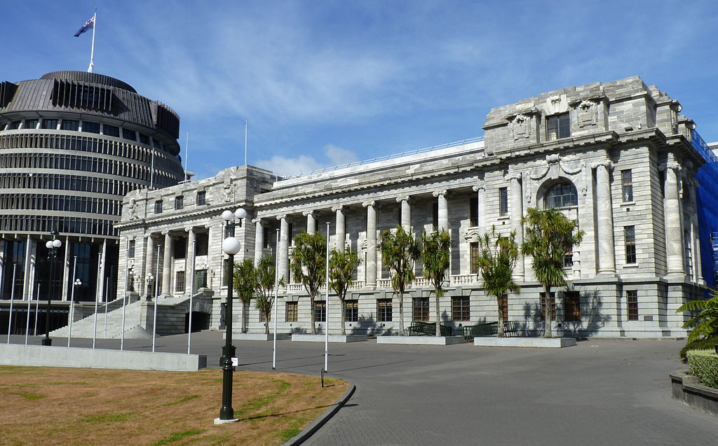 Parliament House. Wellington, New Zealand
