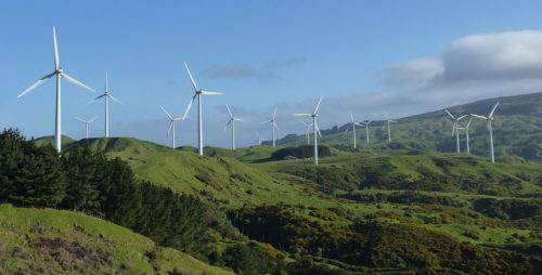 Te Apiti Wind Farm, New Zealand