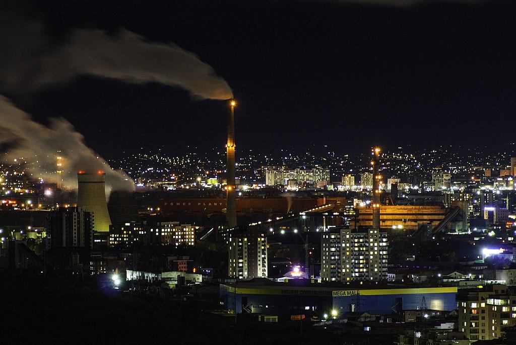 Ulaanbaatar coal power plant #3