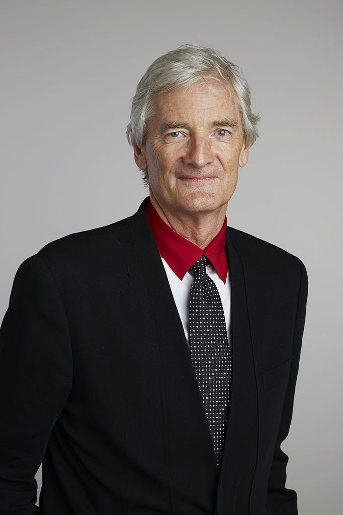 James Dyson is a famous inventor and supporter of science.