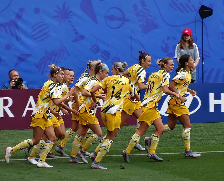 Australia's Soccer Team - Women's World Cup, France 2019.