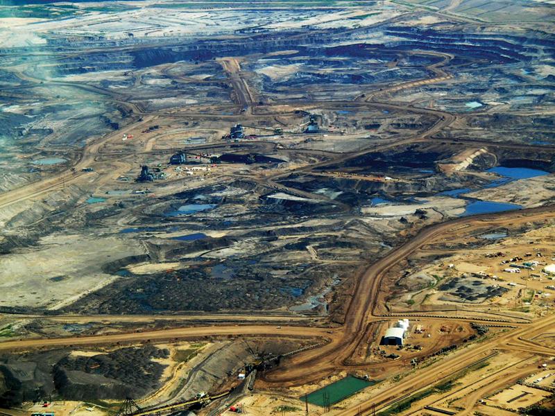 Tar sands in Alberta 2008