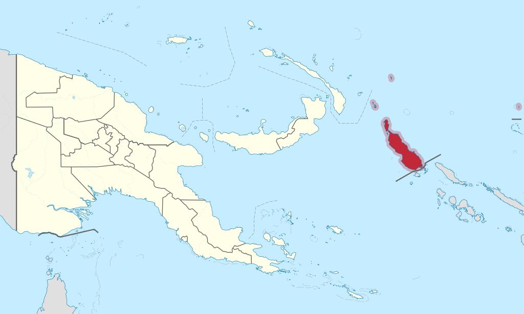 Bougainville in Papua New Guinea