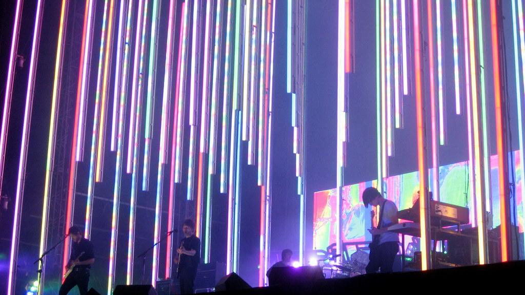 Radiohead concert, 2008.