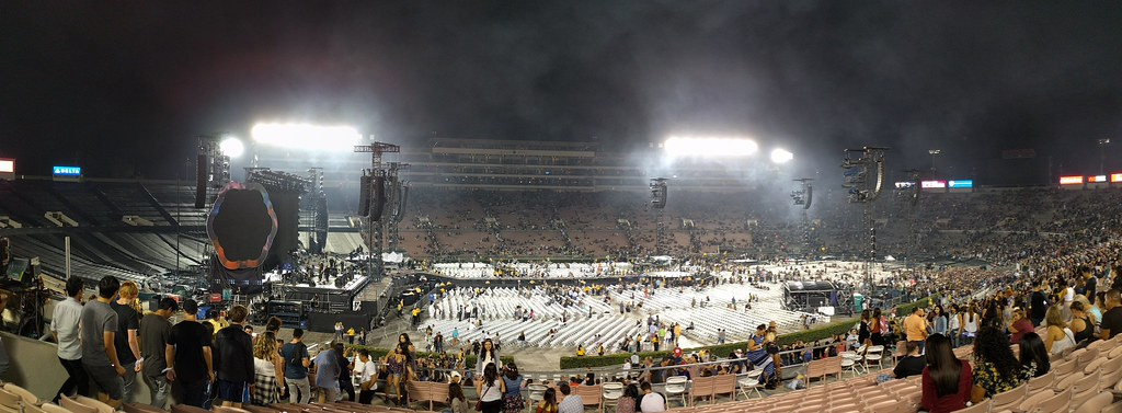 Coldplay Rose Bowl 8/20 and 8/21, 2016
