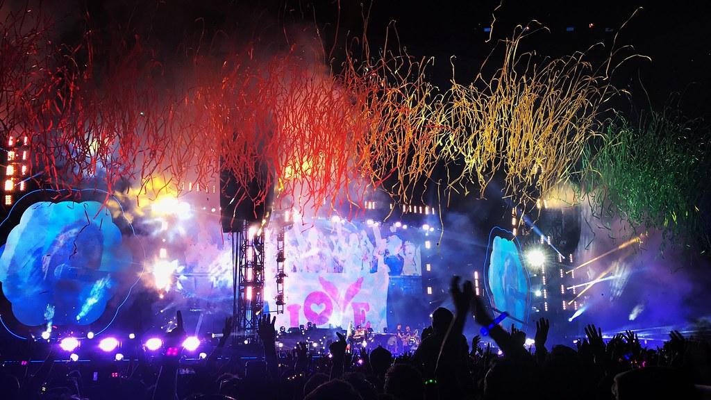 Coldplay - A Head full of Dreams World Tour Parc OL - Lyon, 2017