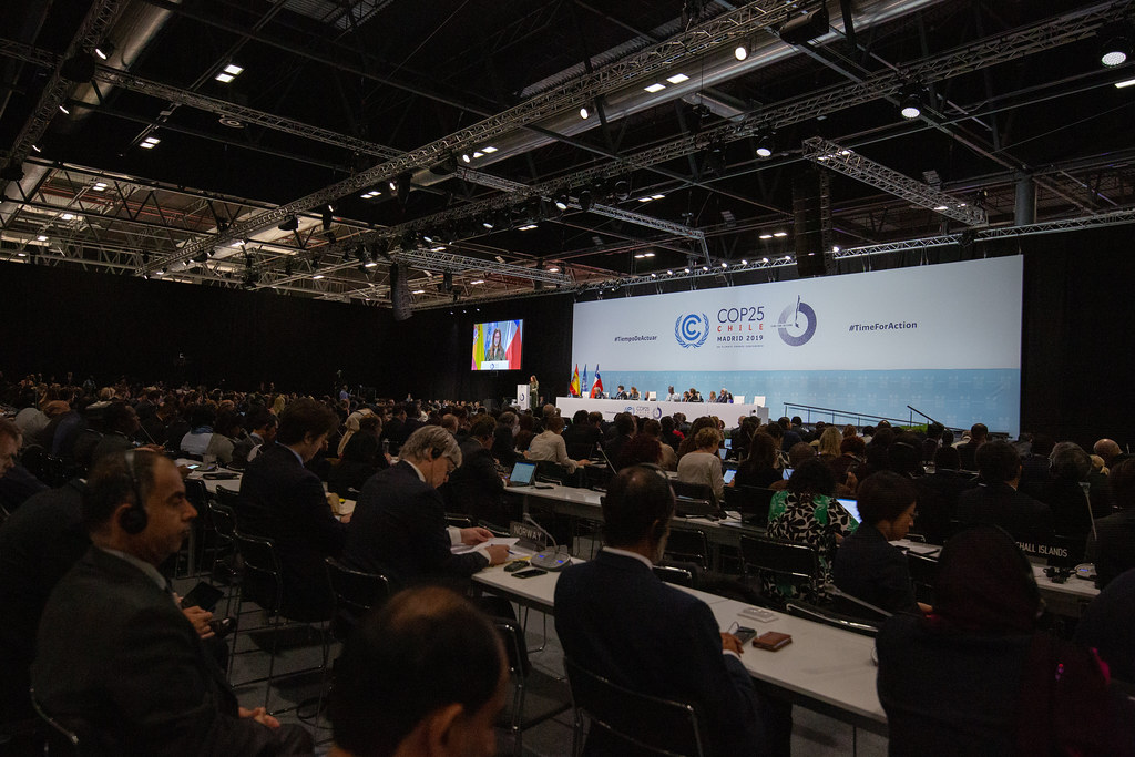 The official opening ceremony of the high-level segment of COP 25/CMP 15/CMA 2