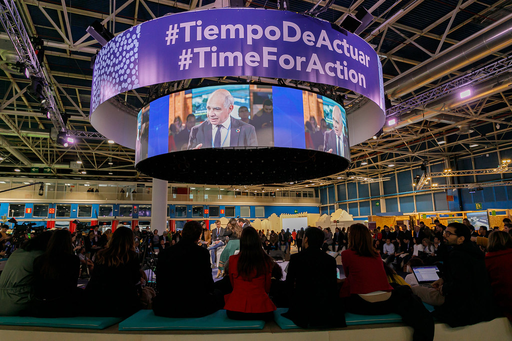 COP25 - Time for Action Banner