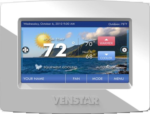 Venstar ColorTouch digital touch screen thermostat