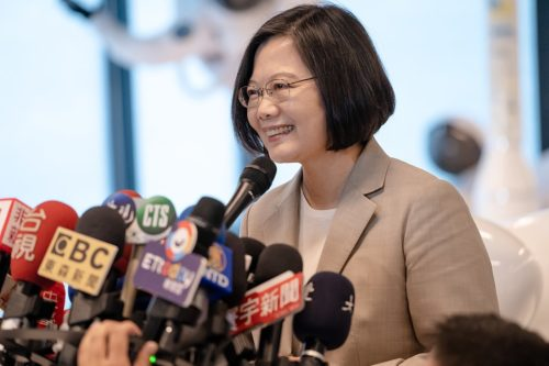 Tsai Ing-wen in June 2019
