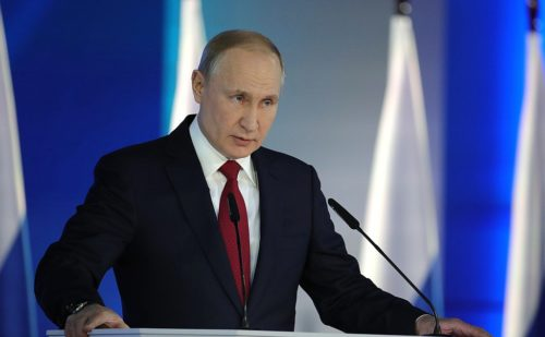 2020 Putin Presidential Address to the Federal Assembly