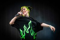 Billie Eilish at 2019 Pukkelpop Music Festival which take place in Kiewit, Hasselt, Belgium.