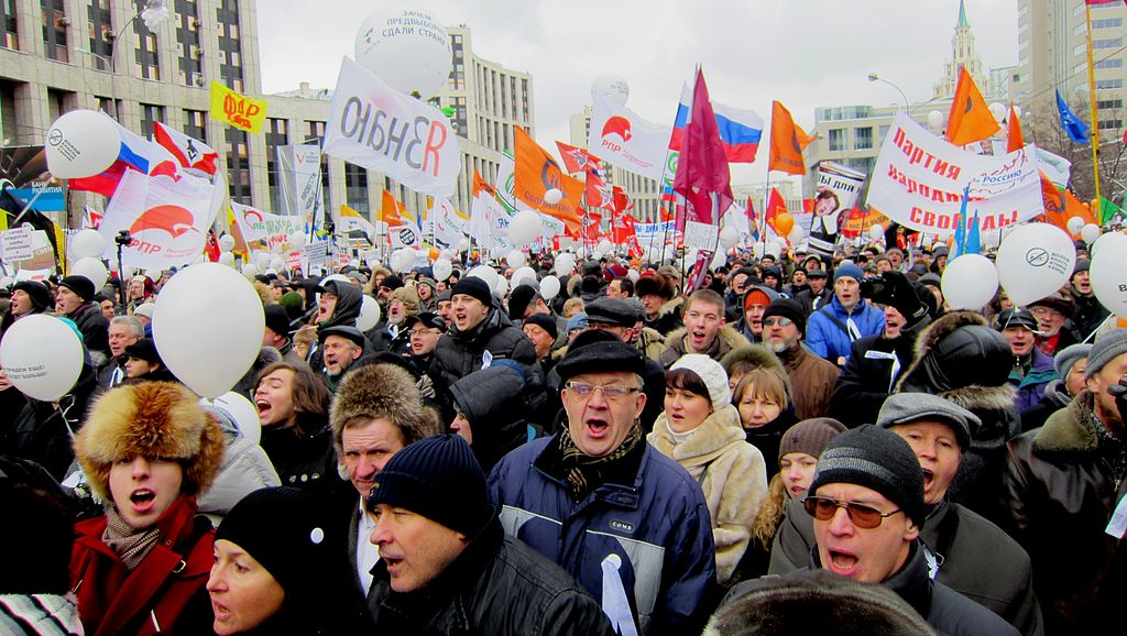 Moscow rally 24 December 2011, Sakharov Avenue