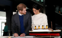 Prince Harry and Ms. Markle visit Titanic Belfast, 23 March 2018