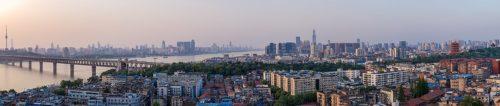 Panorama of Hanyang, Hankou and Wuchang (2017).
