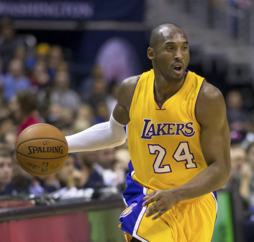 Kobe Bryant, Lakers at Wizards 12/3/14