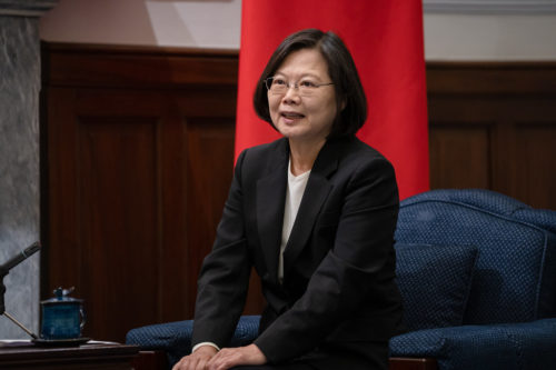 President Tsai Ing-wen on January 13, 2020 after winning re-election.