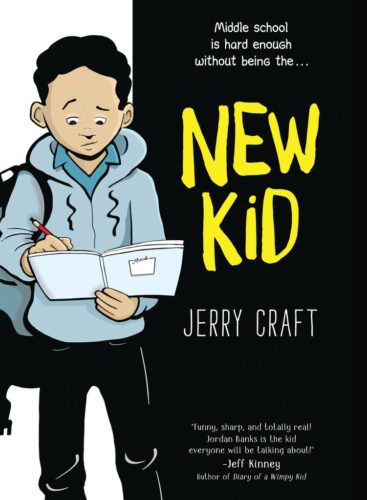 Cover of New Kid, written and illustrated by Jerry Craft.