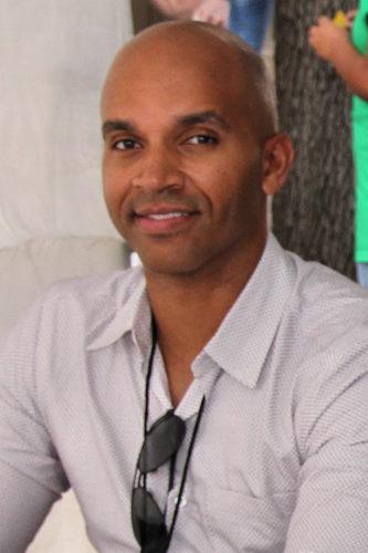 Author Kadir Nelson at the 2017 Texas Book Festival.