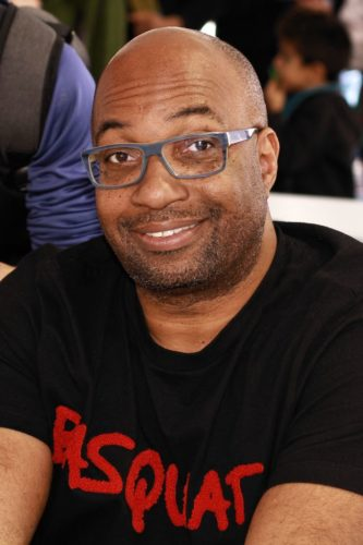 Author Kwame Alexander at the 2019 Texas Book Festival in Austin, Texas, United States.