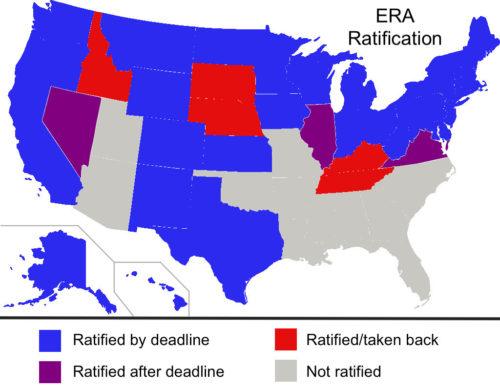 US Equal Rights Amendment Ratification Map