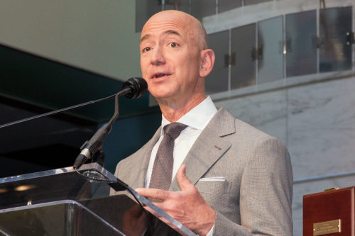 Flag Day Naturalization Ceremony Honoring Jeff Bezos