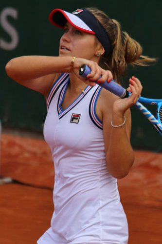 Sofia Kenin at the 2019 French Open