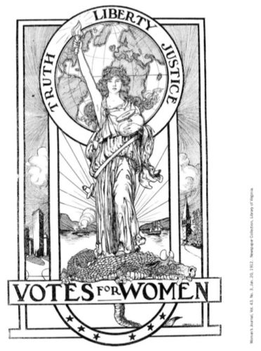 Woman's Journal, Vol. 43. No. 3, Jan. 20, 1912. Newspaper Collection, Library of Virginia. #ColorOurCollections 2020.