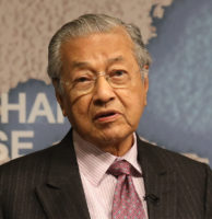 HE Dr Mahathir bin Mohamad, Prime Minister of Malaysia