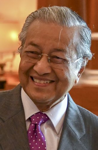 Malaysian Prime Minister Tun Dr. Mahathir Mohamad