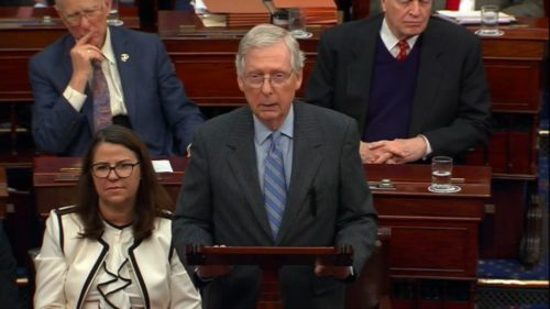 Senate Majority Leader Mitch McConnell