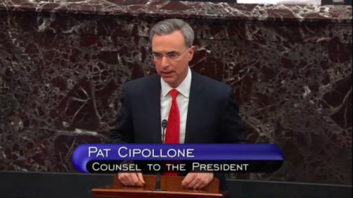 Pat Cipollone, Counsel to the President
