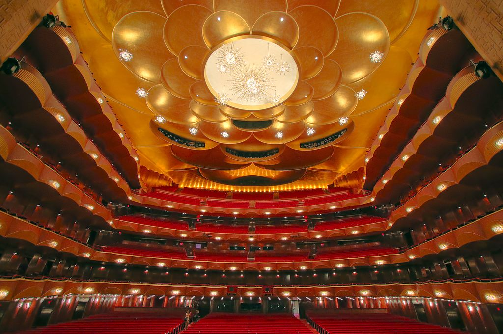 Metropolitan Opera House inside, no audience