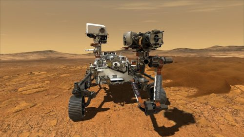 Mars Perseverance Rover - Artist Concept - March 5, 2020