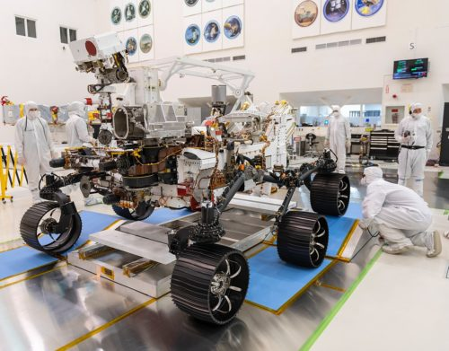Mars 2020 Rover - First Test Drive-B - December 17, 2019