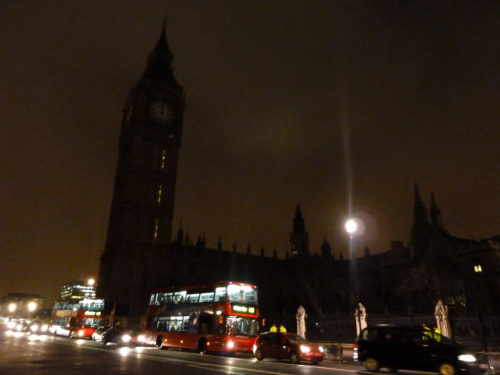 Big Ben, Earth Hour