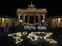 Earth Hour 2019 celebrations in Germany.