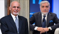 Afghanistan President Ashraf Ghani & Abdullah Abdullah