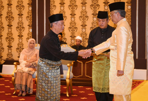 Muhyiddin Takes Oath as 8th PM Before King