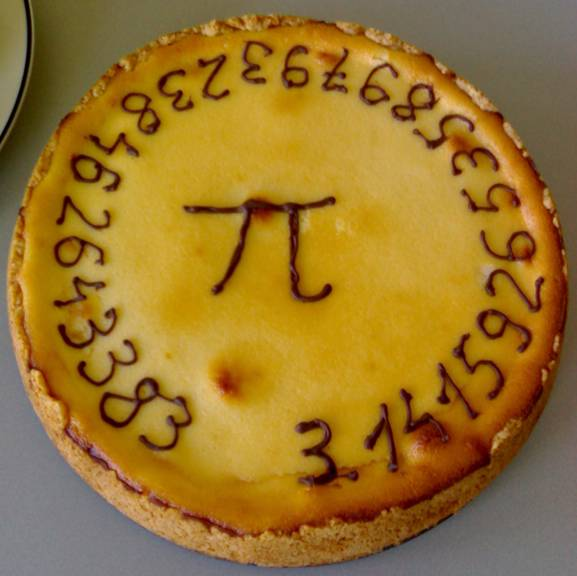 Pi Pie, created at Delft University of Technology, applied physics, seismics and acoustics