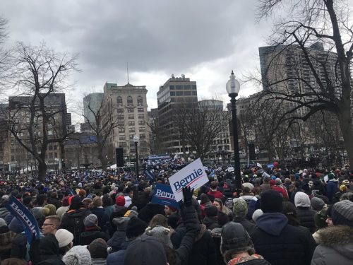 Bernie Sanders Rally Boston 2 29 2020