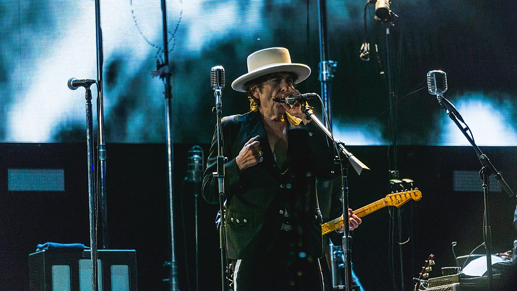 A performance by Bob Dylan on October 7, 2016