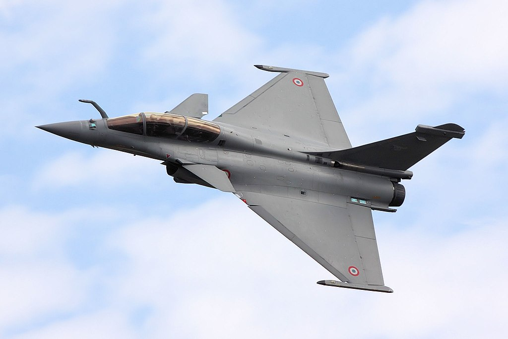 A French Air Force Dassault Rafale B at RIAT in 2009