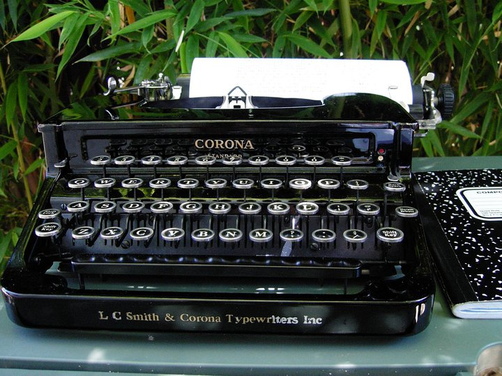 Corona typewriter