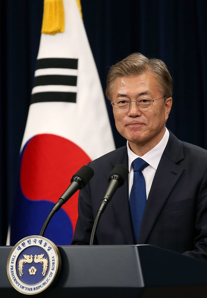 Moon Jae-in, the 19th President of Republic of Korea